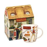 Churchill At Your Leisure The Sportsman Mug in Hatbox
